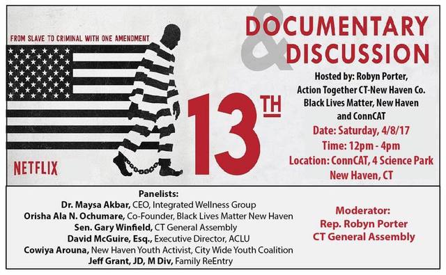 Family ReEntry Joins Panel Discussion of 13th, Prison Slavery Documentary Film