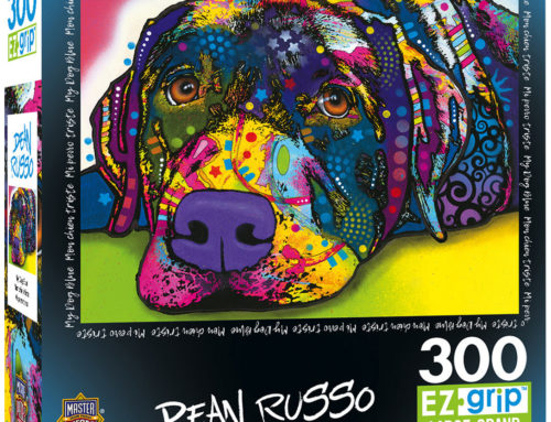 MasterPieces Fetches Dean Russo's Pet Art  for Colorful Collection of New Puzzles