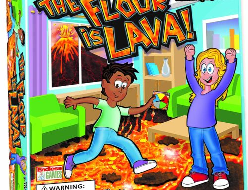 Endless Games' The Floor Is Lava Blasts Onto Toy Scene