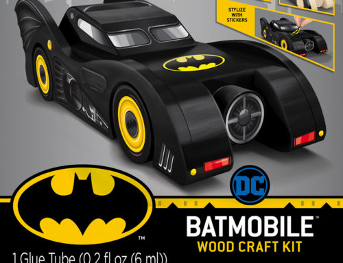 MasterPieces and Warner Bros. Consumer Products Announce New DC Batman® Buildable Wood Craft Kits