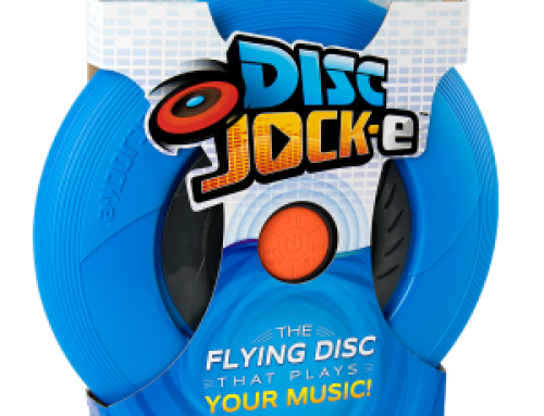 Tucker's New Disc Jock-e: A Game of Catch Never Sounded So Good