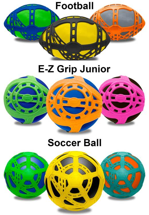 Tucker Toys E-Z Grip Balls