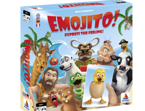 Expressive Twist in Tactic's New Emojito! Party Game