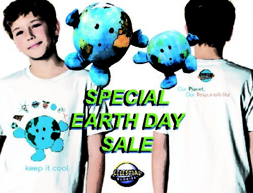 Celestial Buddies Preps for a Very Special Earth Day 2020