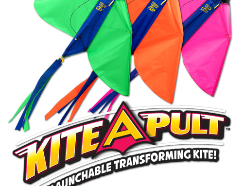 Kite Flying is a Breeze with Tucker Toys' Kite-A-Pult