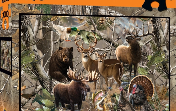 New MasterPieces Realtree Puzzles
